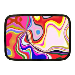Colourful Abstract Background Design Netbook Case (medium)