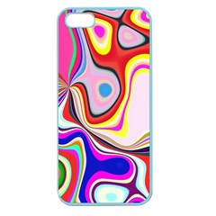 Colourful Abstract Background Design Apple Seamless Iphone 5 Case (color) by Nexatart