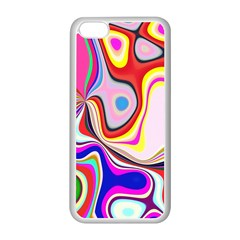 Colourful Abstract Background Design Apple Iphone 5c Seamless Case (white) by Nexatart