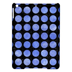 Circles1 Black Marble & Blue Watercolor Apple Ipad Air Hardshell Case by trendistuff