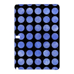 Circles1 Black Marble & Blue Watercolor Samsung Galaxy Tab Pro 12 2 Hardshell Case by trendistuff