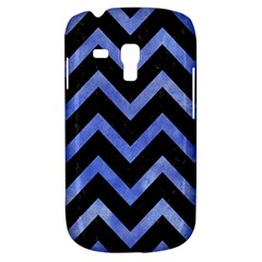 Chevron9 Black Marble & Blue Watercolor Samsung Galaxy S3 Mini I8190 Hardshell Case by trendistuff