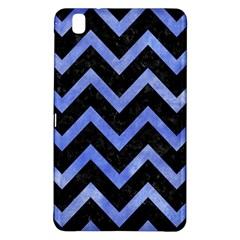 Chevron9 Black Marble & Blue Watercolor Samsung Galaxy Tab Pro 8 4 Hardshell Case by trendistuff
