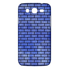 Brick1 Black Marble & Blue Watercolor (r) Samsung Galaxy Mega 5 8 I9152 Hardshell Case  by trendistuff