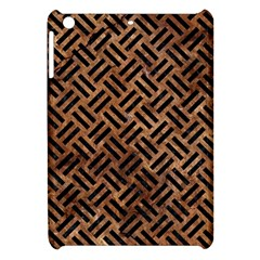 Woven2 Black Marble & Brown Stone (r) Apple Ipad Mini Hardshell Case by trendistuff