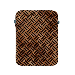 Woven2 Black Marble & Brown Stone (r) Apple Ipad 2/3/4 Protective Soft Case by trendistuff