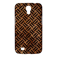 Woven2 Black Marble & Brown Stone (r) Samsung Galaxy Mega 6 3  I9200 Hardshell Case by trendistuff