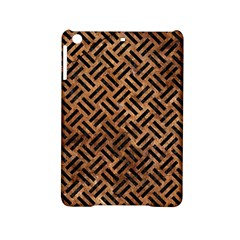 Woven2 Black Marble & Brown Stone (r) Apple Ipad Mini 2 Hardshell Case by trendistuff