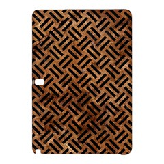 Woven2 Black Marble & Brown Stone (r) Samsung Galaxy Tab Pro 12 2 Hardshell Case by trendistuff