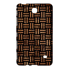 Woven1 Black Marble & Brown Stone Samsung Galaxy Tab 4 (7 ) Hardshell Case  by trendistuff