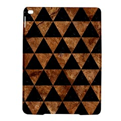 Triangle3 Black Marble & Brown Stone Apple Ipad Air 2 Hardshell Case by trendistuff