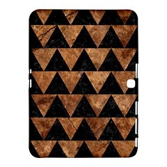 Triangle2 Black Marble & Brown Stone Samsung Galaxy Tab 4 (10 1 ) Hardshell Case  by trendistuff