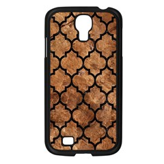 Tile1 Black Marble & Brown Stone (r) Samsung Galaxy S4 I9500/ I9505 Case (black) by trendistuff