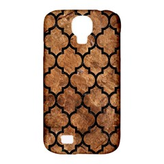 Tile1 Black Marble & Brown Stone (r) Samsung Galaxy S4 Classic Hardshell Case (pc+silicone) by trendistuff