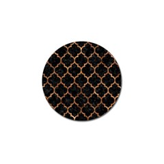 Tile1 Black Marble & Brown Stone Golf Ball Marker (10 Pack) by trendistuff