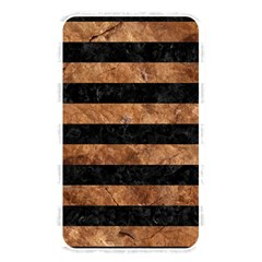 Stripes2 Black Marble & Brown Stone Memory Card Reader (rectangular) by trendistuff