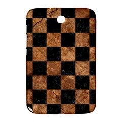 Square1 Black Marble & Brown Stone Samsung Galaxy Note 8 0 N5100 Hardshell Case  by trendistuff