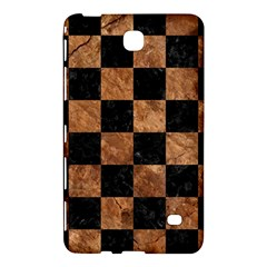 Square1 Black Marble & Brown Stone Samsung Galaxy Tab 4 (7 ) Hardshell Case  by trendistuff