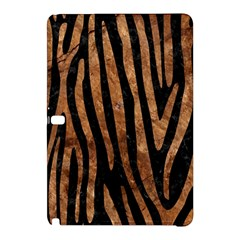 Skin4 Black Marble & Brown Stone (r) Samsung Galaxy Tab Pro 12 2 Hardshell Case by trendistuff
