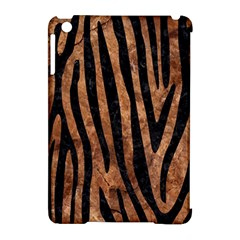 Skin4 Black Marble & Brown Stone Apple Ipad Mini Hardshell Case (compatible With Smart Cover) by trendistuff