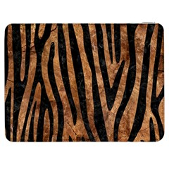 Skin4 Black Marble & Brown Stone Samsung Galaxy Tab 7  P1000 Flip Case by trendistuff