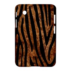 Skin4 Black Marble & Brown Stone Samsung Galaxy Tab 2 (7 ) P3100 Hardshell Case  by trendistuff