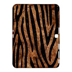 Skin4 Black Marble & Brown Stone Samsung Galaxy Tab 4 (10 1 ) Hardshell Case  by trendistuff