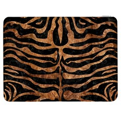 Skin2 Black Marble & Brown Stone Samsung Galaxy Tab 7  P1000 Flip Case by trendistuff