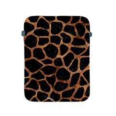 Skin1 Black Marble & Brown Stone (r) Apple Ipad 2/3/4 Protective Soft Case by trendistuff