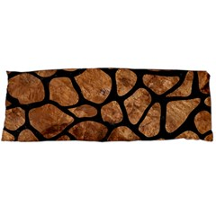 Skin1 Black Marble & Brown Stone Body Pillow Case Dakimakura (two Sides)
