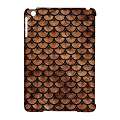 Scales3 Black Marble & Brown Stone (r) Apple Ipad Mini Hardshell Case (compatible With Smart Cover) by trendistuff