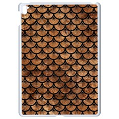 Scales3 Black Marble & Brown Stone (r) Apple Ipad Pro 9 7   White Seamless Case by trendistuff