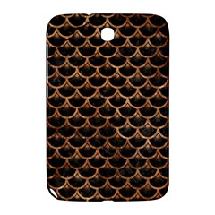 Scales3 Black Marble & Brown Stone Samsung Galaxy Note 8 0 N5100 Hardshell Case  by trendistuff
