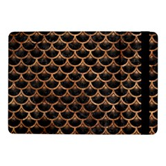 Scales3 Black Marble & Brown Stone Samsung Galaxy Tab Pro 10 1  Flip Case by trendistuff