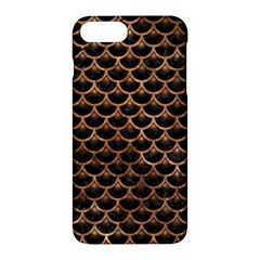 Scales3 Black Marble & Brown Stone Apple Iphone 7 Plus Hardshell Case by trendistuff