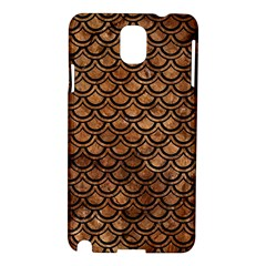 Scales2 Black Marble & Brown Stone (r) Samsung Galaxy Note 3 N9005 Hardshell Case by trendistuff