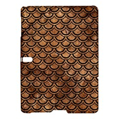 Scales2 Black Marble & Brown Stone (r) Samsung Galaxy Tab S (10 5 ) Hardshell Case