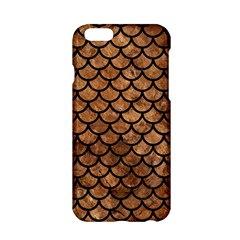 Scales1 Black Marble & Brown Stone (r) Apple Iphone 6/6s Hardshell Case by trendistuff