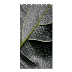 Leaf Detail Macro Of A Leaf Shower Curtain 36  X 72  (stall)  by Nexatart