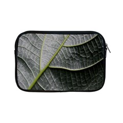Leaf Detail Macro Of A Leaf Apple Ipad Mini Zipper Cases by Nexatart