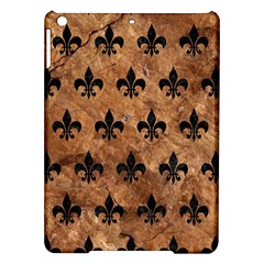 Royal1 Black Marble & Brown Stone Apple Ipad Air Hardshell Case by trendistuff