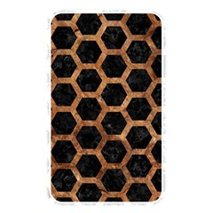 Hexagon2 Black Marble & Brown Stone Memory Card Reader (rectangular) by trendistuff