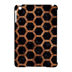 Hexagon2 Black Marble & Brown Stone Apple Ipad Mini Hardshell Case (compatible With Smart Cover) by trendistuff