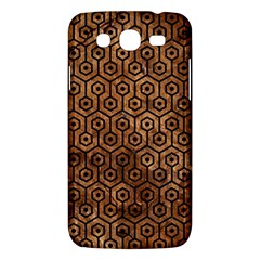 Hexagon1 Black Marble & Brown Stone (r) Samsung Galaxy Mega 5 8 I9152 Hardshell Case  by trendistuff