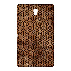 Hexagon1 Black Marble & Brown Stone (r) Samsung Galaxy Tab S (8 4 ) Hardshell Case  by trendistuff