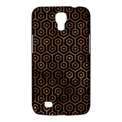 Hexagon1 Black Marble & Brown Stone Samsung Galaxy Mega 6 3  I9200 Hardshell Case by trendistuff