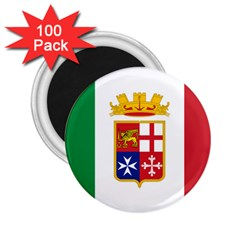 Naval Ensign Of Italy 2 25  Magnets (100 Pack)  by abbeyz71