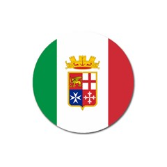 Naval Ensign Of Italy Magnet 3  (round) by abbeyz71