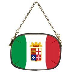 Naval Ensign Of Italy Chain Purses (one Side)  by abbeyz71