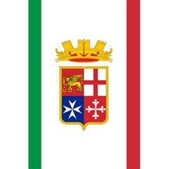 Naval Ensign Of Italy 5 5  X 8 5  Notebooks by abbeyz71